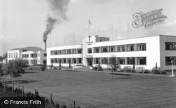 Hatfield, De Havillands Factory 1951