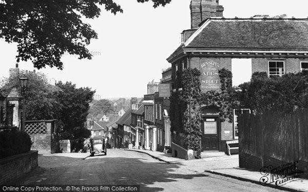 Photo of Hatfield, Fore Street 1951, ref. H254011