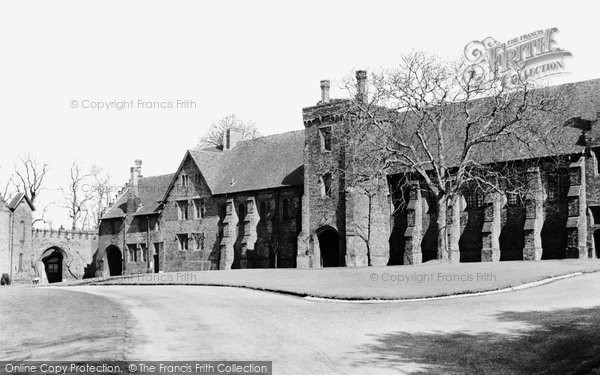 Photo of Hatfield, Hatfield House, Old Palace c1960, ref. H254042