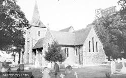 Hatfield Heath, Holy Trinity Church c.1965