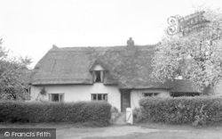 Hatfield Heath, The Clipped Hedge Tea Room c.1955