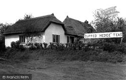 Hatfield Heath, The Clipped Hedge Tea-Rooms c.1955