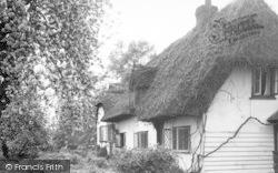 Hatfield Heath, The Clipped Hedge Tea Rooms c.1955