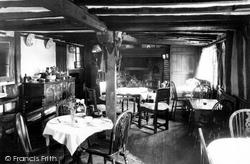 Hatfield Heath, The Clipped Hedge Tea Rooms Interior c.1955