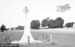 Hatfield Heath, The Memorial And Church c.1965