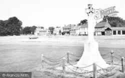 Hatfield Heath, The Memorial And Post Office c.1965