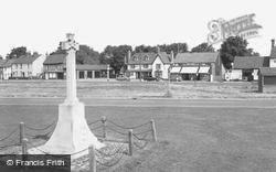 Hatfield Heath, The Memorial And White Horse Inn c.1965