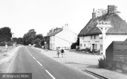 Hatfield Heath, Waggon And Horses c.1955