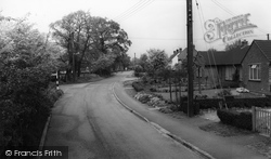 Hatfield Peverel, Church Road c.1960