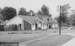 Hatfield Peverel, Houses By Church Road c.1960