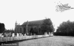 Hatfield Peverel, St Andrew's Church c.1960