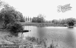 Hatfield Peverel, The Lake And Priory c.1960