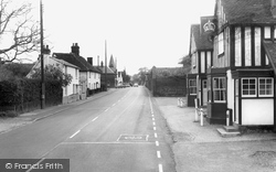 Hatfield Peverel, The Street c.1960