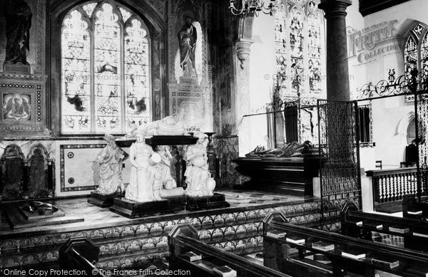 Hatfield, Salisbury Chapel, the Parish Church c1965
