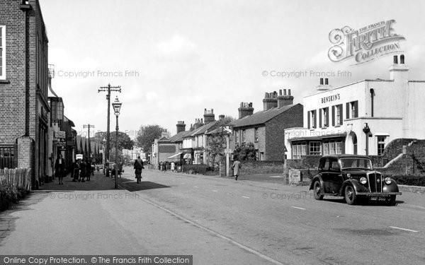 Photo of Hatfield, St Albans Road c1955, ref. H254008