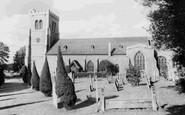Hatfield, St Etheldreda's Church c1960