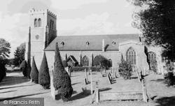 Hatfield, St Etheldreda's Church c.1960