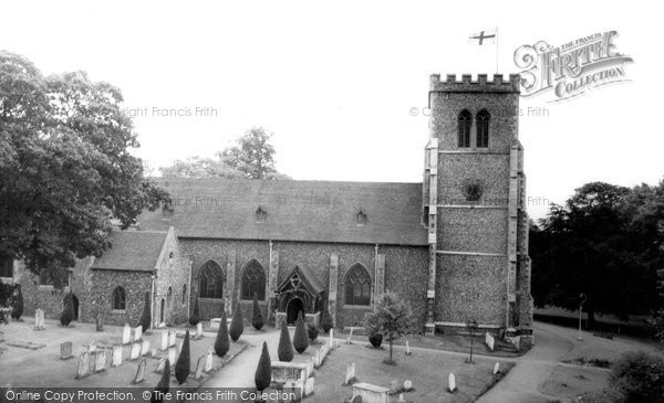 Photo of Hatfield, the Parish Church c1965, ref. H254082