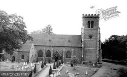 Hatfield, St Etheldreda's Parish Church c.1965