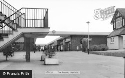 Hatfield, The Arcade c.1965