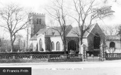 Hatfield, The Parish Church c.1960