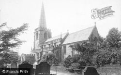 Church Of St Michael And All Angels 1896, Hathersage