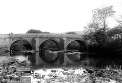 Leadmill Bridge 1896, Hathersage