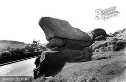 Toad's Mouth Rock c.1965, Hathersage