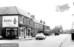 Hatton, Post Office And Station Road c.1965
