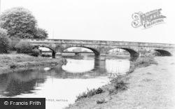 Hatton, River And Bridge c.1965