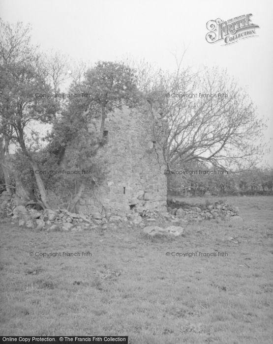 Photo of Haugh Of Glass, Edinglassie Castle Tower c.1950
