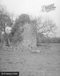 Edinglassie Castle Tower c.1950, Haugh Of Glass
