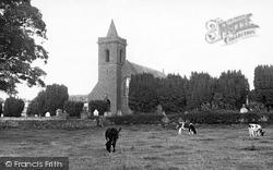 Haugh Of Urr, The Church c.1955