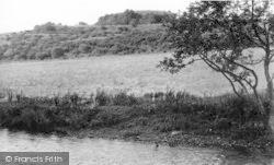 The Moat c.1955, Haugh Of Urr