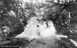 Haugh Of Urr, Waterfall In Spottes Glen c.1955