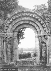 Haughmond Abbey, c.1880
