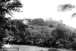 Haughmond Abbey, Castle Hill 1891