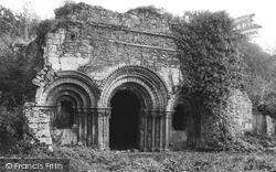 Haughmond Abbey, Chapter House 1924