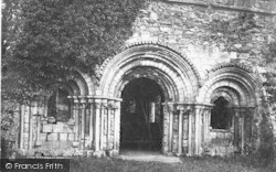 Haughmond Abbey, Chapter House c.1864