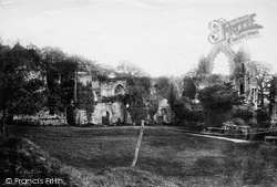 Haughmond Abbey, The Abbey 1891