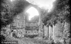 Haughmond Abbey, The Abbot's Lodgings 1924