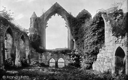 Haughmond Abbey, The Infirmary Hall 1924