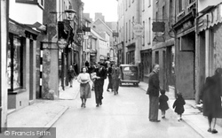 Haverfordwest, Bridge Street c.1955