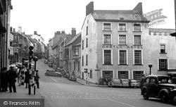 Haverfordwest, Castle Square 1950