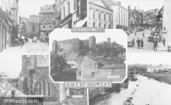 Haverfordwest, Composite c.1955