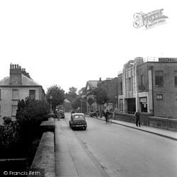 Haverfordwest, County Theatre And Picton Place 1950