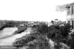 Haverfordwest, From New Bridge 1890