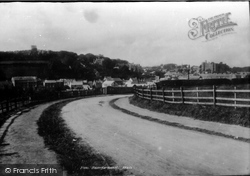 Haverfordwest, From New Road 1890