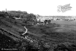 Haverfordwest, From Priory Hill 1890