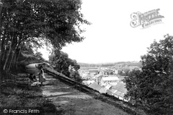 Haverfordwest, From The Parade 1890
